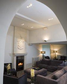 Roch Castle interior