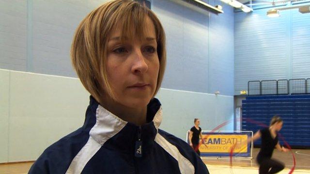 Sarah Moon - Great Britain's rhythmic gymnastics coach