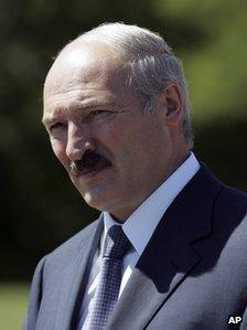 Belarusian President Alexander Lukashenko (image from 2008)