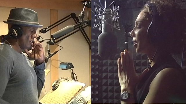 Male and female voice-over artists