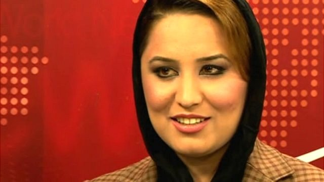 Afghan TV presenter