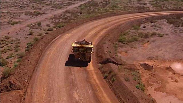 Mining truck in Australia