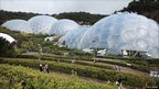 The Eden Project near St Austell in Cornwall