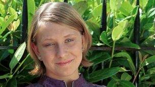 Gemma McCluskie pictured in 2001
