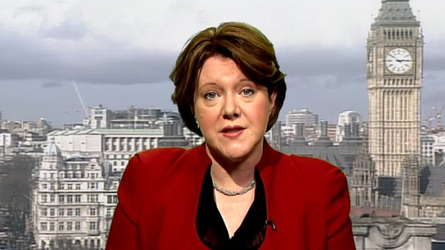 Minister for Disabled People Maria Miller