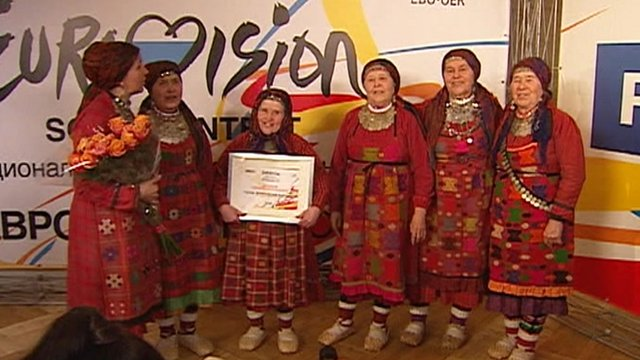 Folk group the Buranovo Grannies
