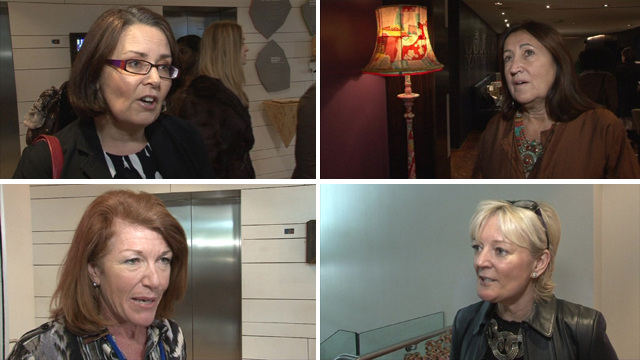 Various female business leaders