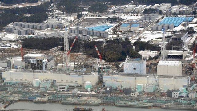 Gorsaf niwclear Fukushima