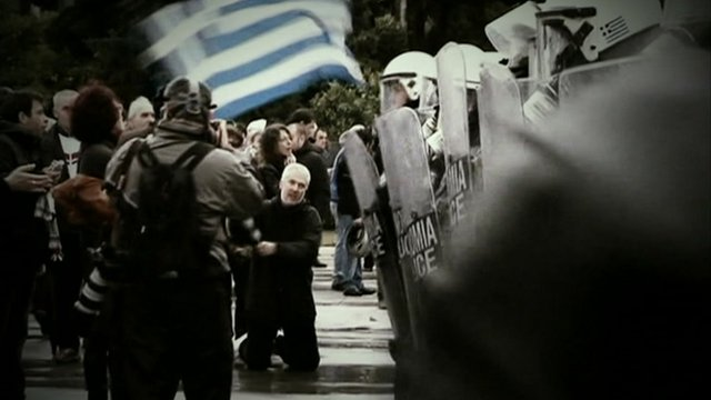 Protest in Athens