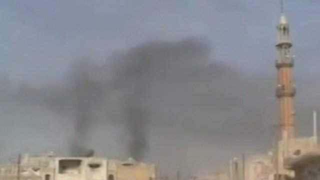 Shelling continues in the Syrian city of Homs