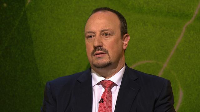 Former Liverpool boss Rafael Benitez