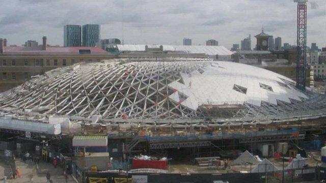 King's Cross new roof