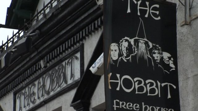 The Hobbit pub in Southampton