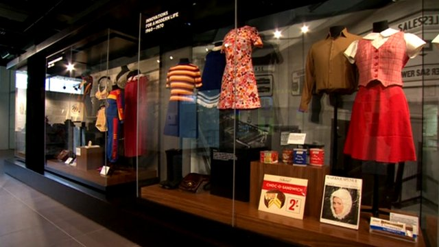 Marks and Spencer exhibition at Leeds University