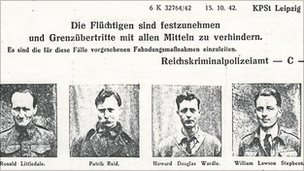 Gestapo wanted poster