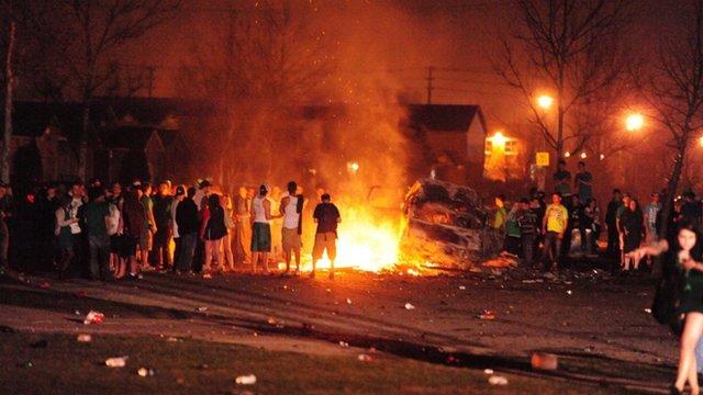 Unrest in London, Ontario