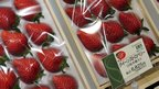 Strawberries on sale