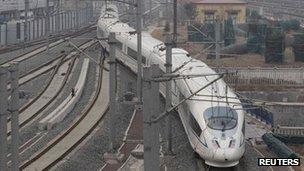 File photo: Beijing train