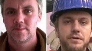 Gareth Montgomery-Johnson and Nicholas Davies
