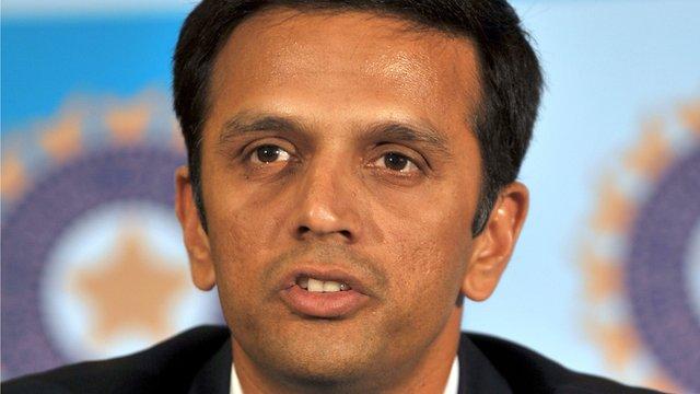 Former Indian batsmen Rahul Dravid