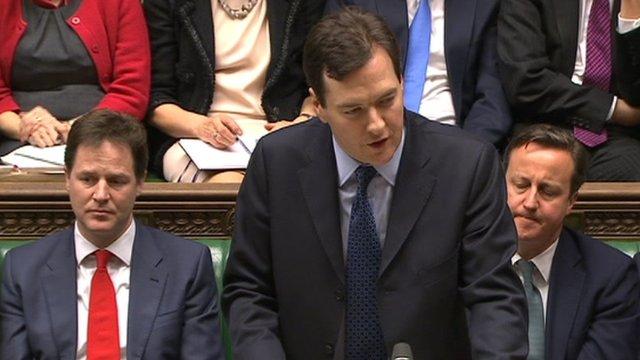 The Chancellor George Osborne