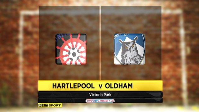 Hartlepool 0-1 Oldham