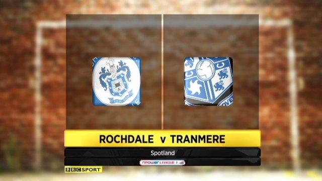 Rochdale 0-2 Tranmere