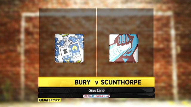Bury 0-0 Scunthorpe