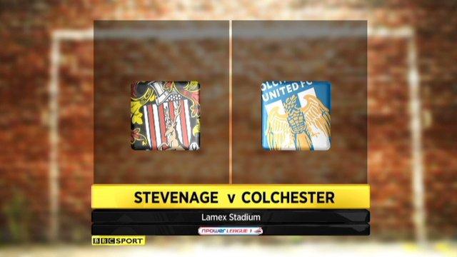 Stevenage 0-0 Colchester