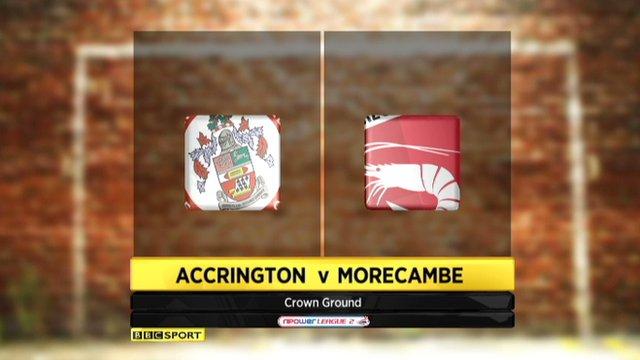 Highlights - Accrington 1-1 Morecambe