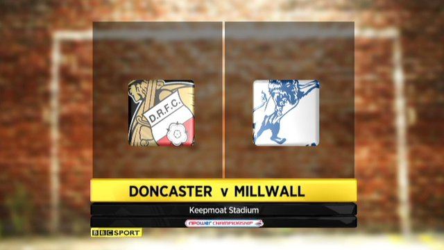 Highlights - Doncaster 0-3 Millwall
