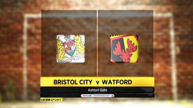 Highlights - Bristol City 0-2 Watford