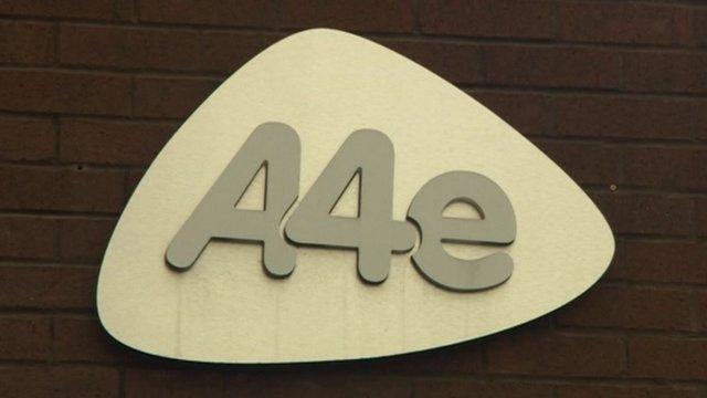 A4e sign