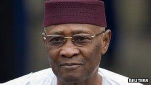 President Amadou Toumani Toure (file photo)