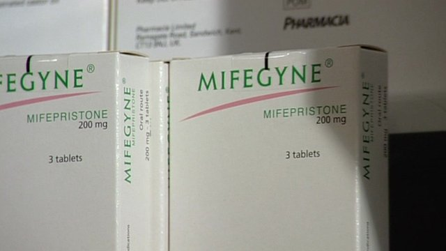 Packets of Mifegyne