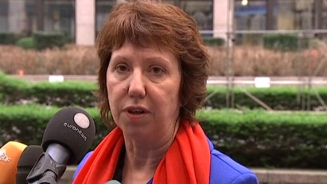 EU foreign policy chief Baroness Ashton
