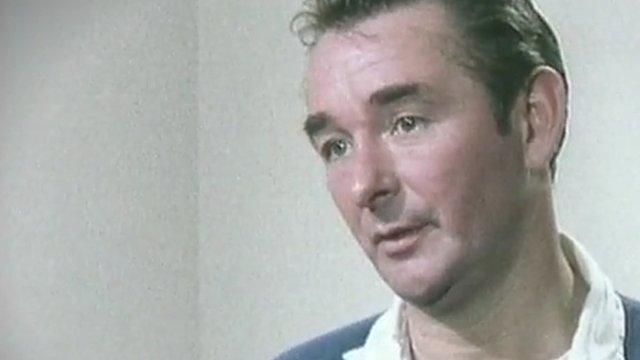 Brian Clough talking to John Motson