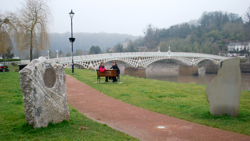 Image result for chepstow wales coastal path