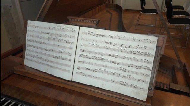 Mozart manuscript