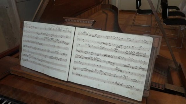 Piece of music believed to have been written by Mozart