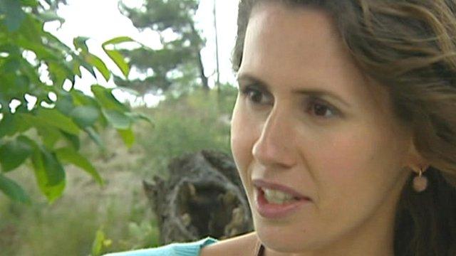 Asma al-Assad, the Syrian president's wife