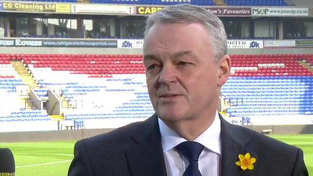 Bolton chairman Phil Gartside