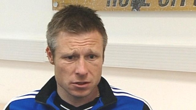 Hull City boss Nick Barmby