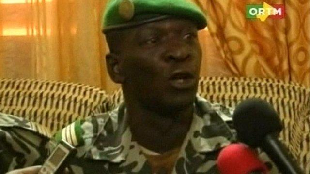 Capt Amadou Sanogo