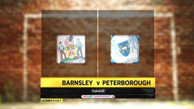 Barnsley 1-0 Peterborough
