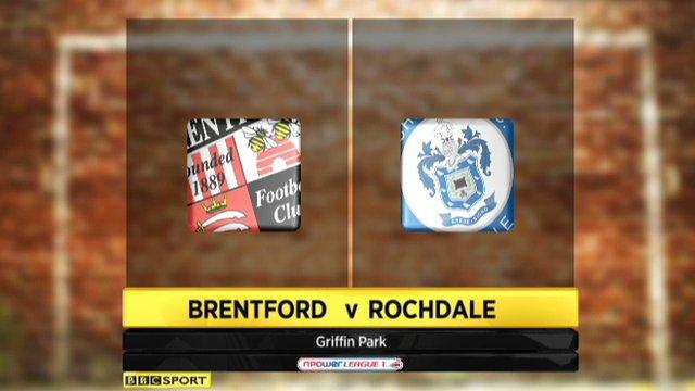 Brentford 2-0 Rochdale