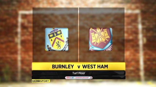 Burnley 2-2 West Ham