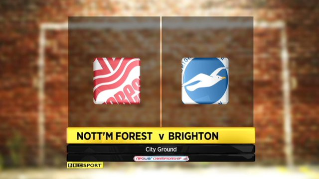 Nottingham Forest 1-1 Brighton