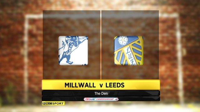 Millwall 0-1 Leeds