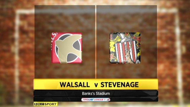 Walsall 1-1 Stevenage